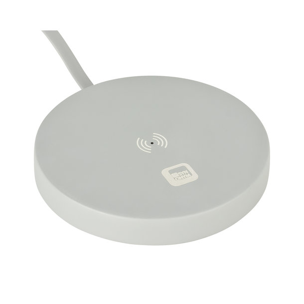 Wireless Charging Station CEMENT ROUND